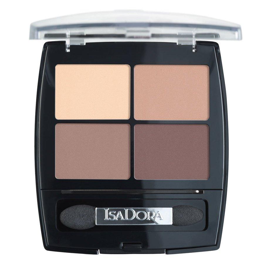IsaDora Eyeshadow Quartet, 44 Muddy Nudes (5 g)