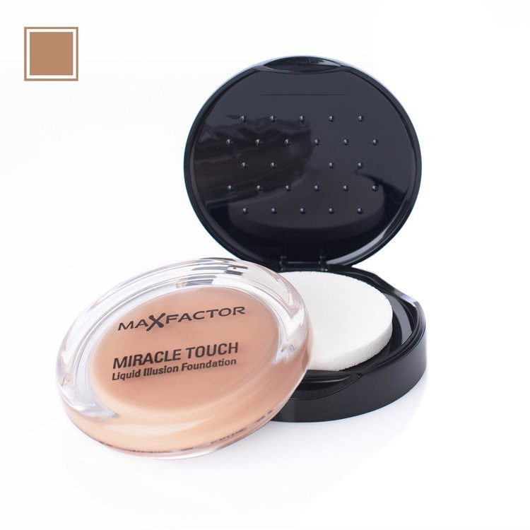 Max Factor Miracle Touch Foundation (11,2 g), 80 Bronze