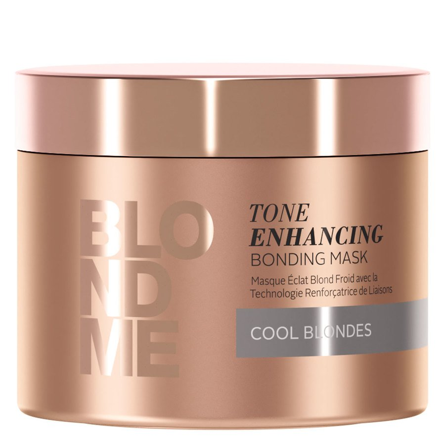 Schwarzkopf Blondme Tone Enhancing Bonding Mask, Cool Blondes (200 ml)