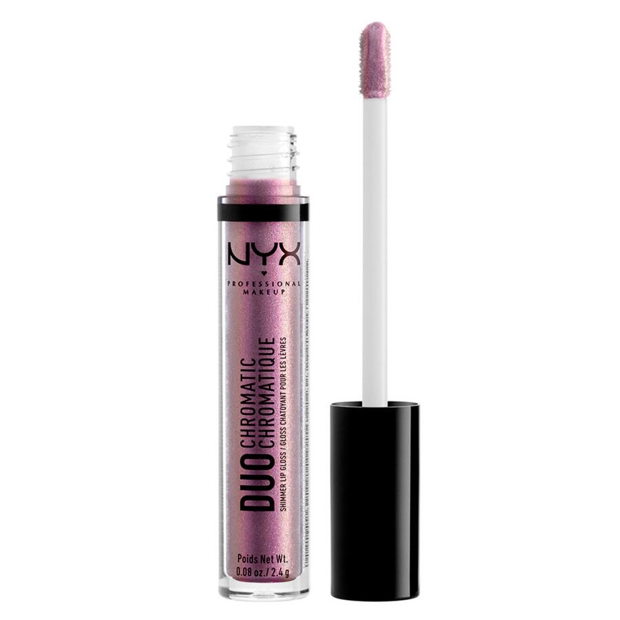 NYX Professional Makeup Duo Chromatic Lip Gloss, Gypsy Dreams