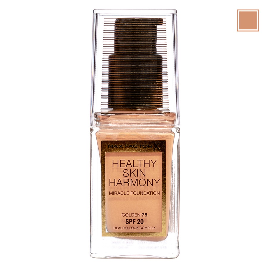 Max Factor Healthy Skin Harmony Miracle Foundation, 75 Golden
