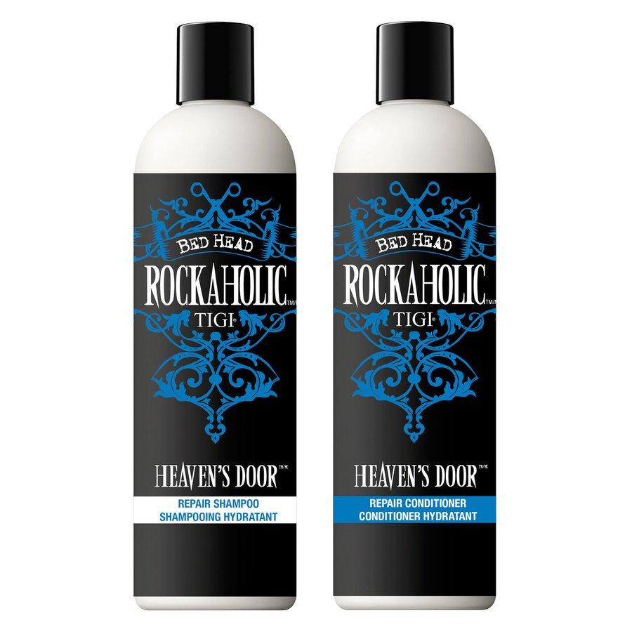 Tigi Rockaholic Heaven's Door Repair Shampoo and Conditioner (2 x 355 ml)