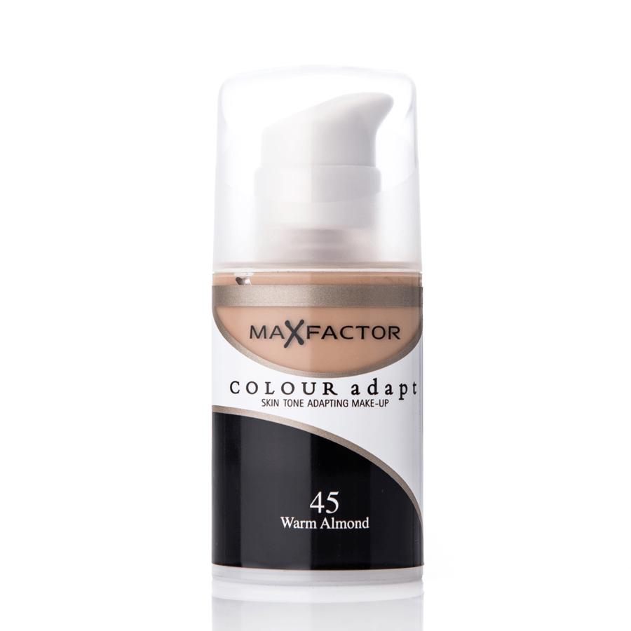 Max Factor Colour Adapt Foundation (34 ml), 45 Warm Almond