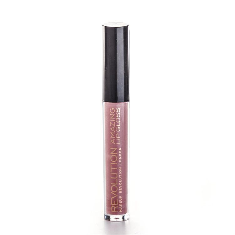 Makeup Revolution Amazing Lip Gloss, Nude Shimmer