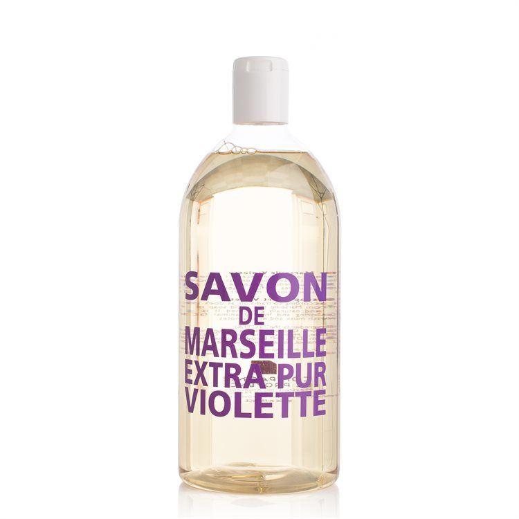 Compagnie De Provence Liquid Soap Refill Sweet Violet 1000 ml