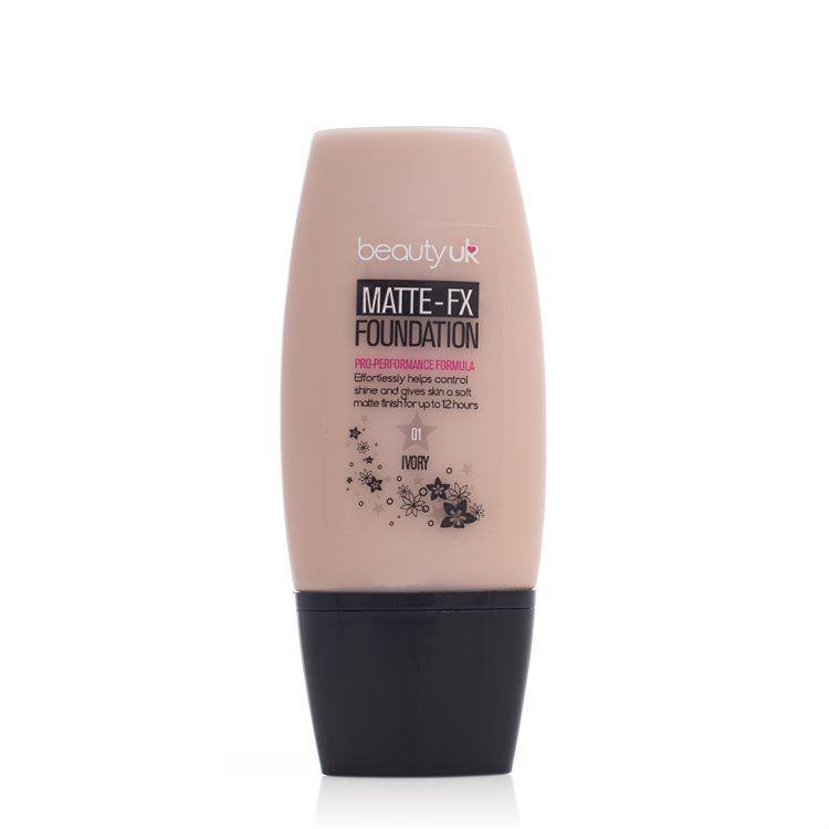 Beauty UK Matte-Fx Foundation Natural (No. 1), Ivory