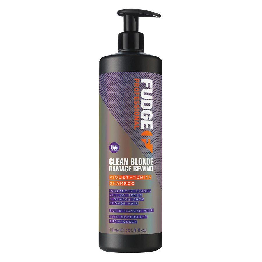 Fudge Clean Blonde Violet Damage Rewind Shampoo (1000 ml)