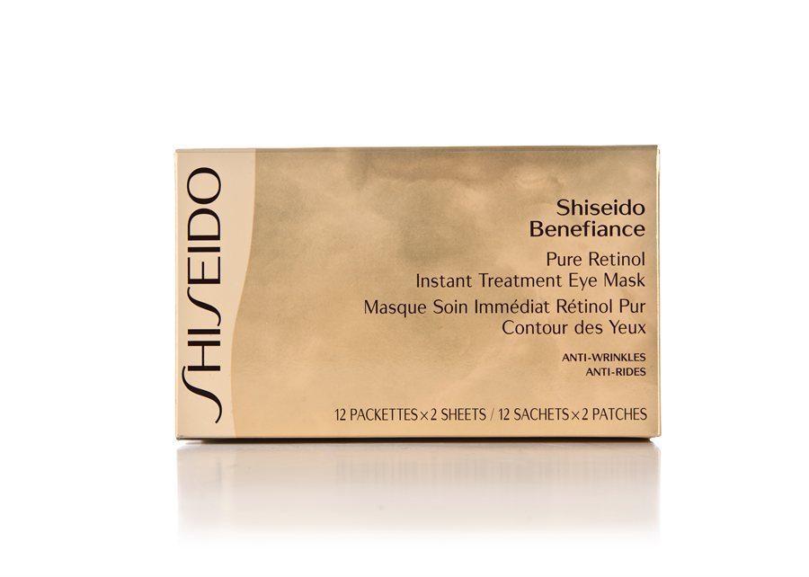 Shiseido Benefiance Wrinkleresist24 Pure Retinol Instant Treatment Eye Mask (12x2 Stück)