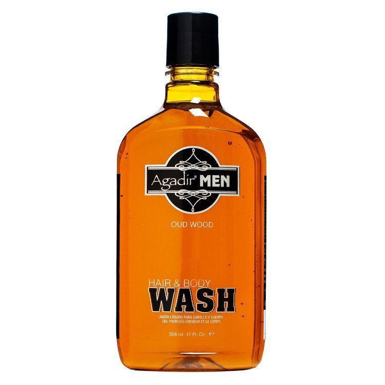 Agadir Men Oud Wood Hair & Body Wash (508 ml)