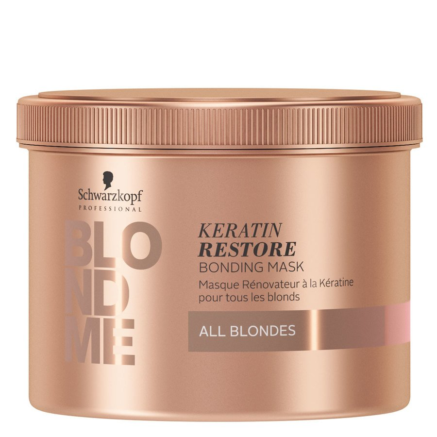 Schwarzkopf Blondme All Blondes Keratin Restore Mask 500ml