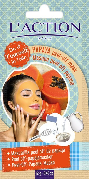 L'Action Paris Papaya Peel-Off Mask (16 g)
