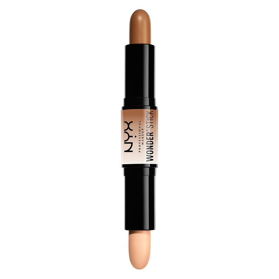 NYX Professional Makeup Highlight And Contour Wonder Stick, Medium/Tan WS02