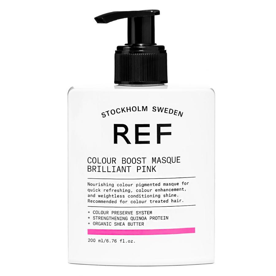 REF Color Boost Masque, Brilliant Pink (200 ml)