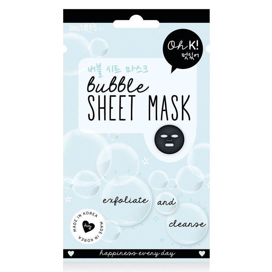 Oh K! Bubble Sheet Mask 20ml