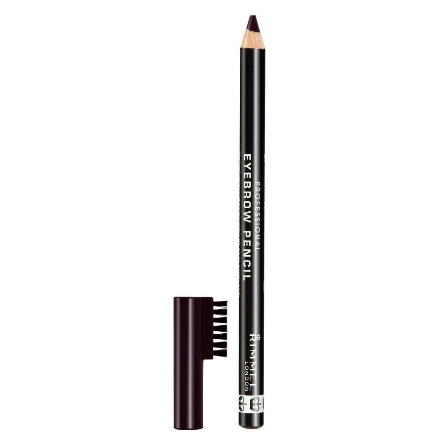 Rimmel London Professional Eyebrow Pencil, # 004 Black Brown (1,4 g)