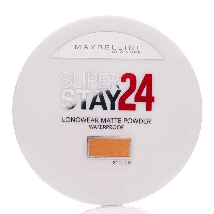 Maybelline Superstay 24h Longwear Matte Powder Waterproof, Nude 021