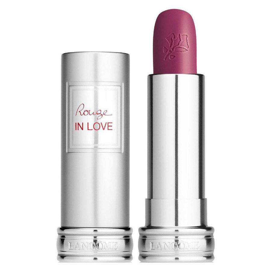 Lancôme Rouge in Love Lipstick #379N Rose Sulfureuse