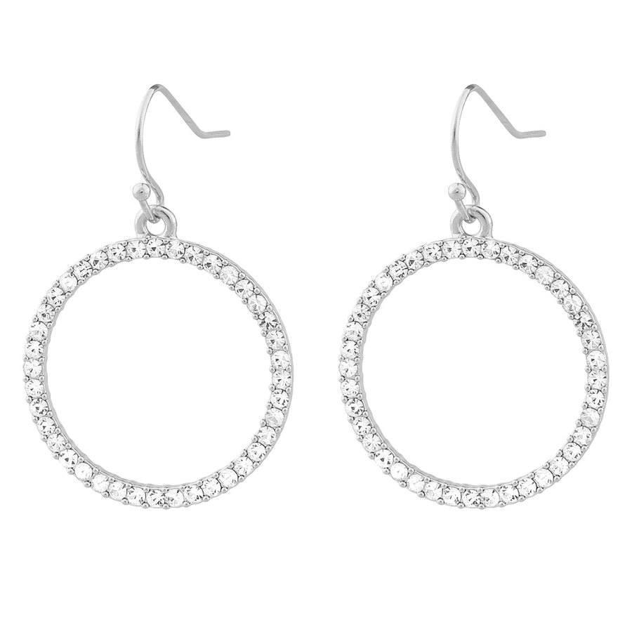 SNÖ of Sweden Josephine Pendant Ear Silver/Clear