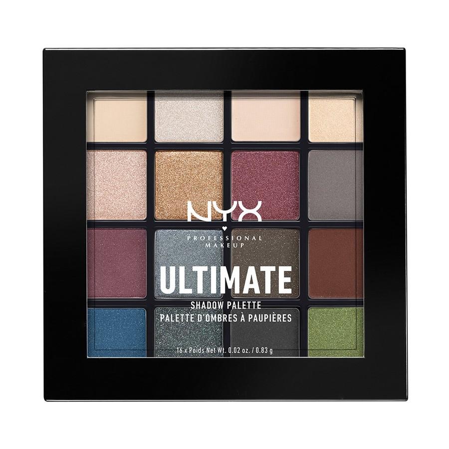 NYX Professional Makeup Ultimate Eyeshadow Palette Smokey & Highlight USP01