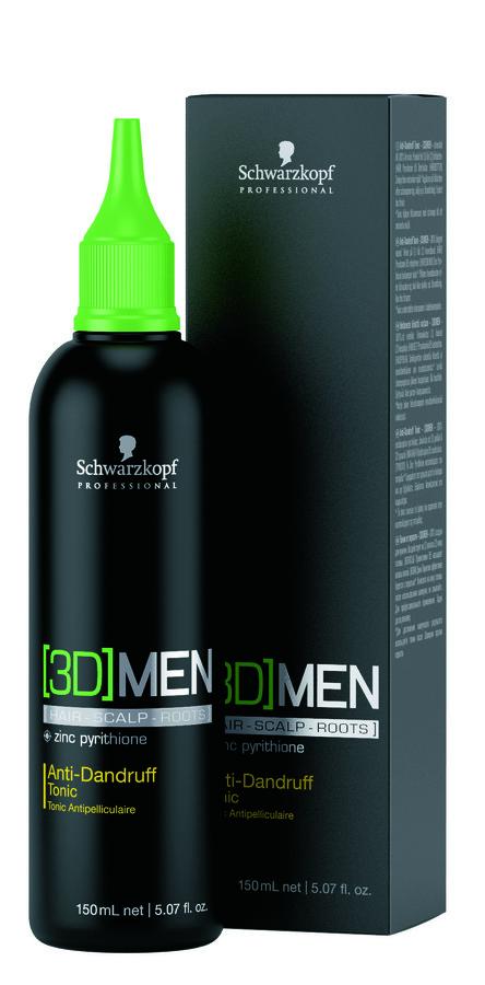 Schwarzkopf 3DMen Anti-Dandruff Tonic (150 ml)