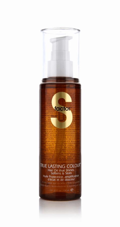 Tigi S-Factor True Lasting Colour Hair Oil 100ml