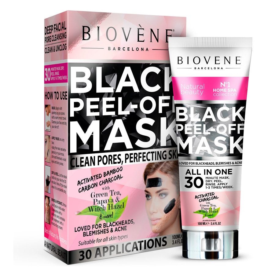 Biovène Black Peel-Off Mask Women 100ml