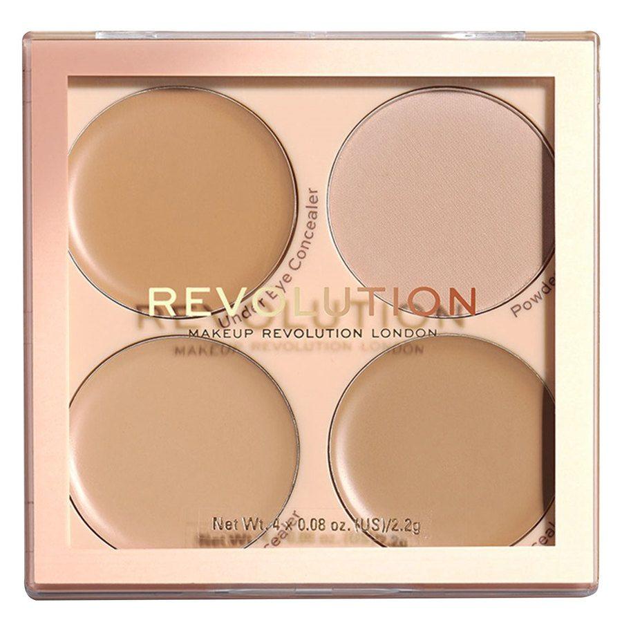 Makeup Revolution Matte Base Concealer Kit, C5-C8
