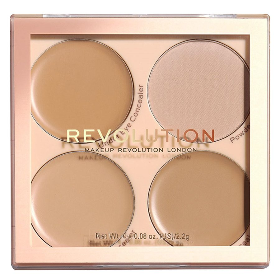 Makeup Revolution Matte Base Concealer Kit, C5-C8