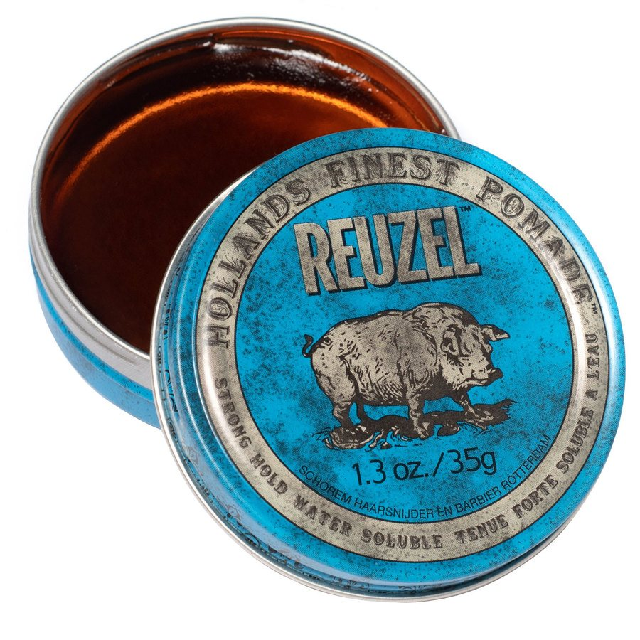 Reuzel Blue Strong Hold High Sheen Pomade (35 g)
