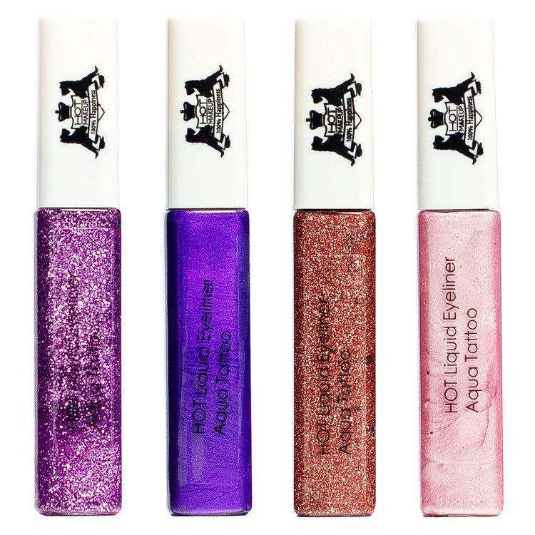Hot Makeup Liquid Eyeliner Aqua Tattoo, Purple