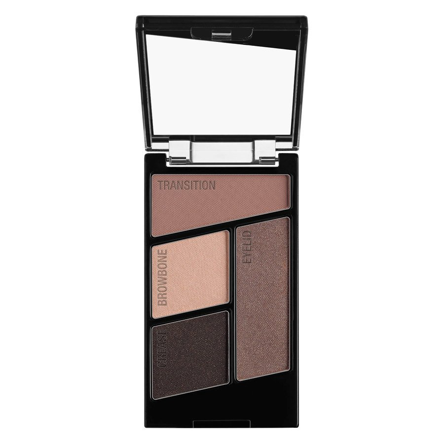 Wet'n Wild Color Icon Eyeshadow Quads, Silent Treatment