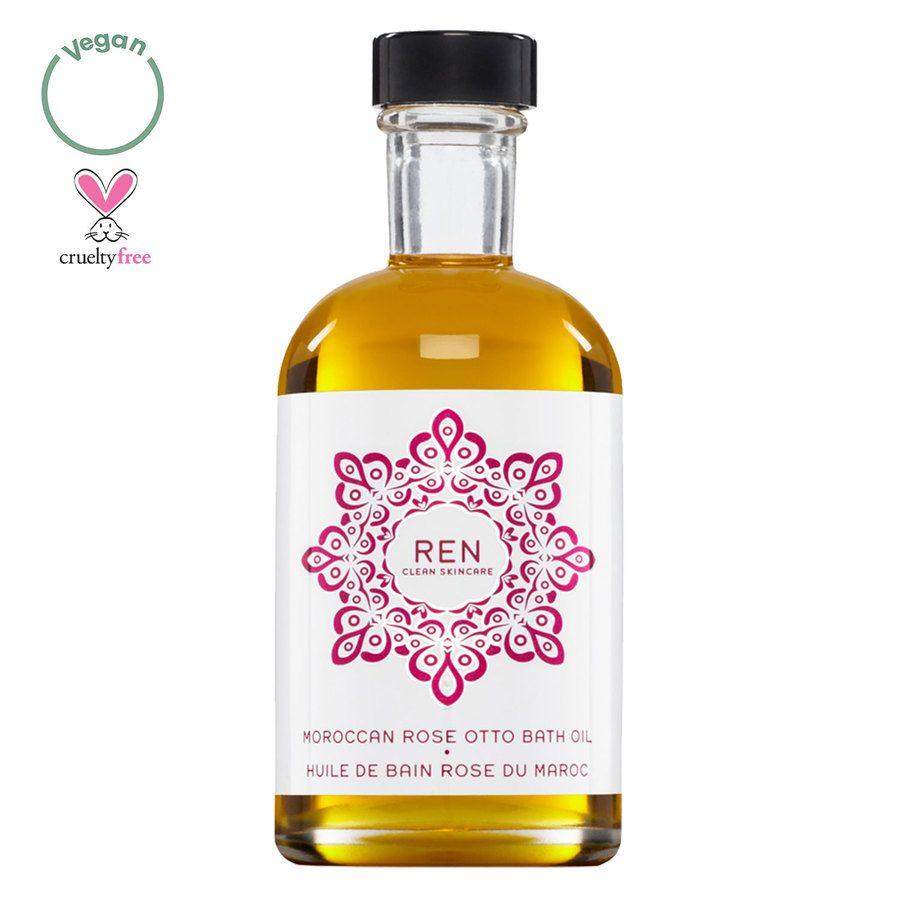 REN Clean Skincare Moroccan Rose Otto Bath Oil (110ml)