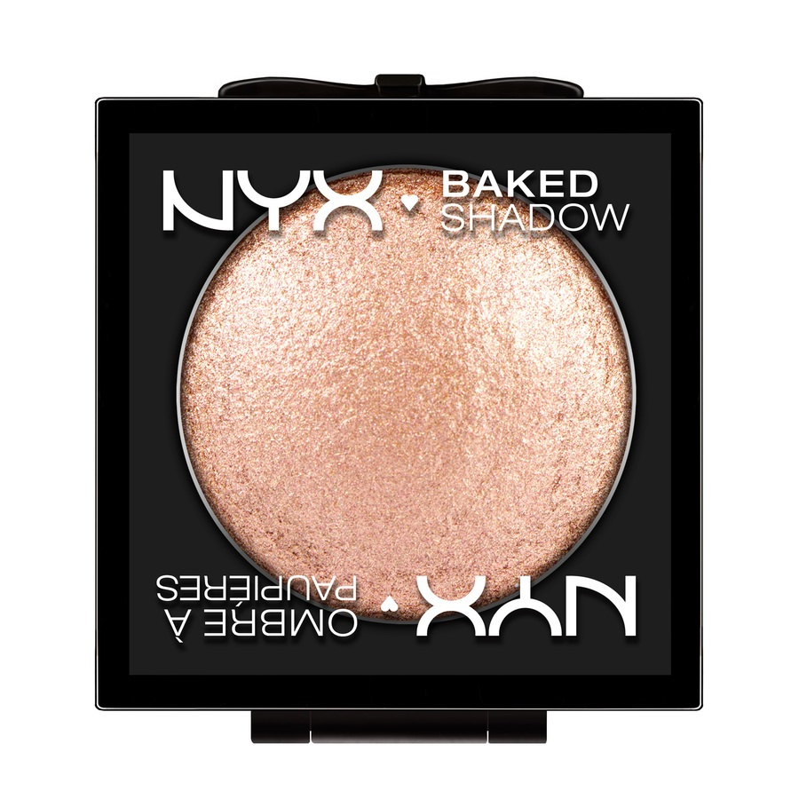 NYX Baked Eye Shadow Lidschatten, Peach Ice