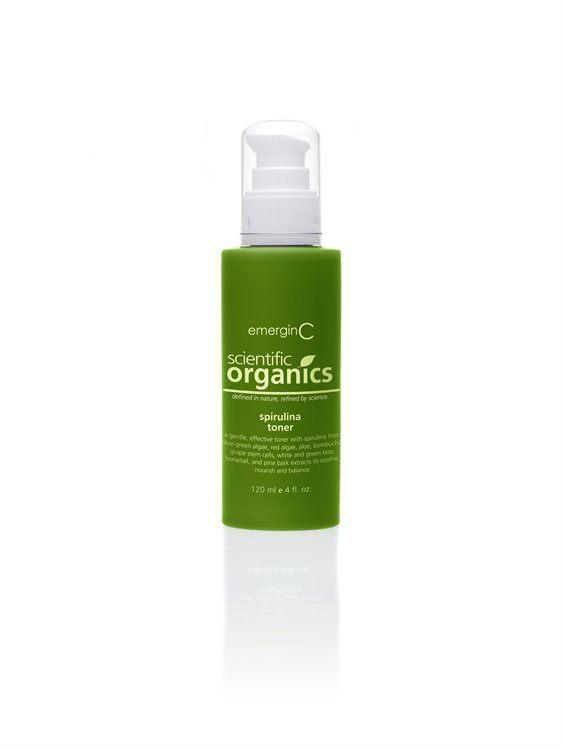 emerginC Scientific Organics Spirulina Toner (120 ml)