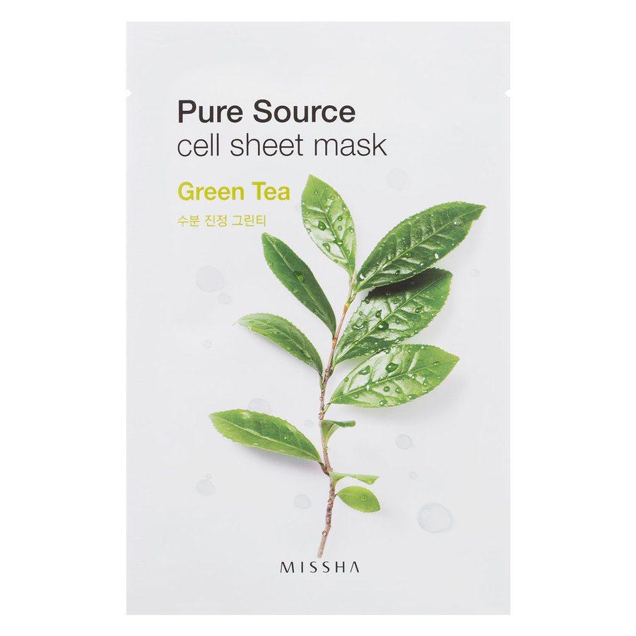 Missha Pure Source Cell Sheet Mask Green Tea (21 g)