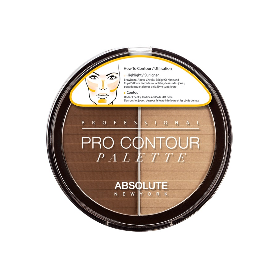 Absolute New York Pro Contour Palette Dark APC03