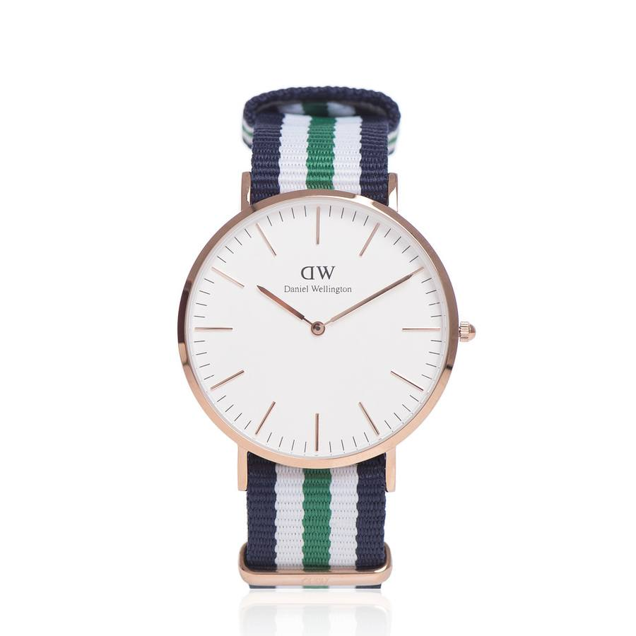 Daniel Wellington Classic Nottingham, roségold (40 mm)