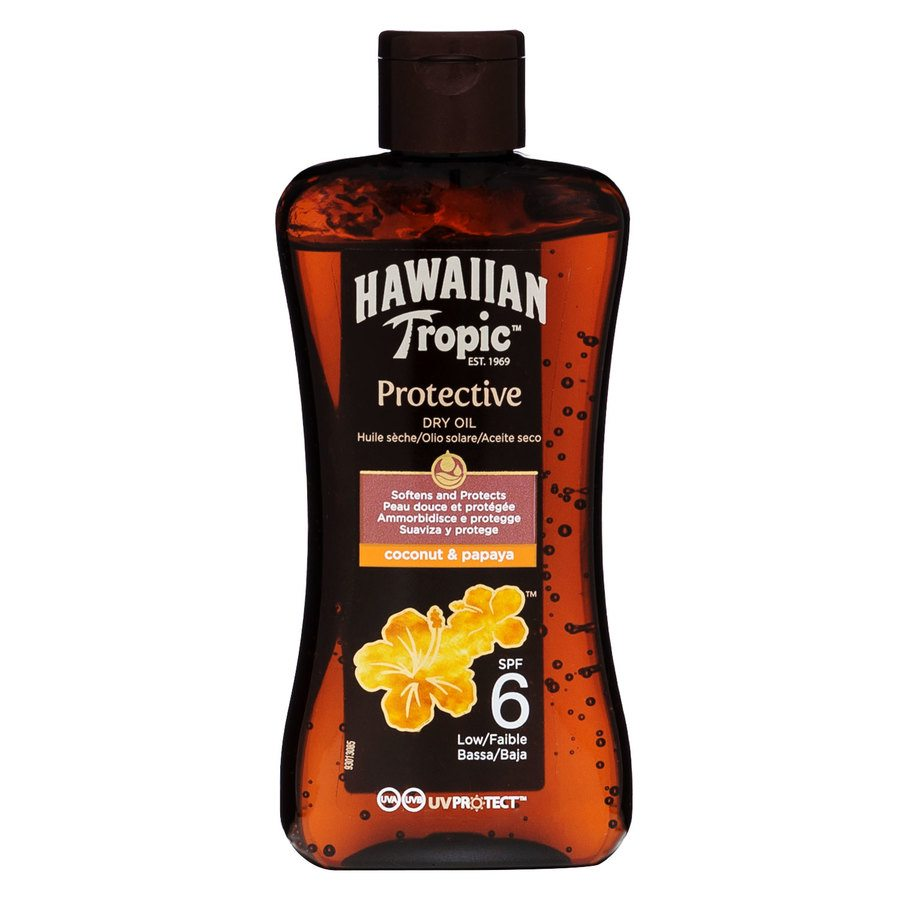 Hawaiian Tropic Protective Dry Oil LSF6 (200 ml)