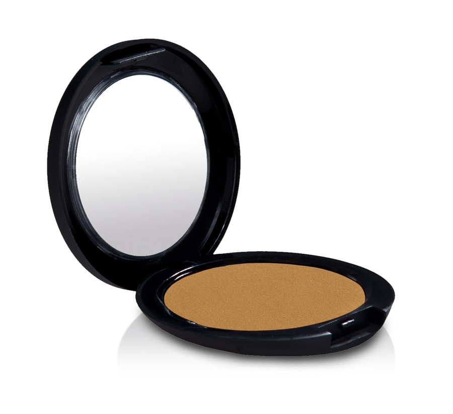 gloMinerals Pressed Base Powder Foundation (9,9 g), Chestnut Light