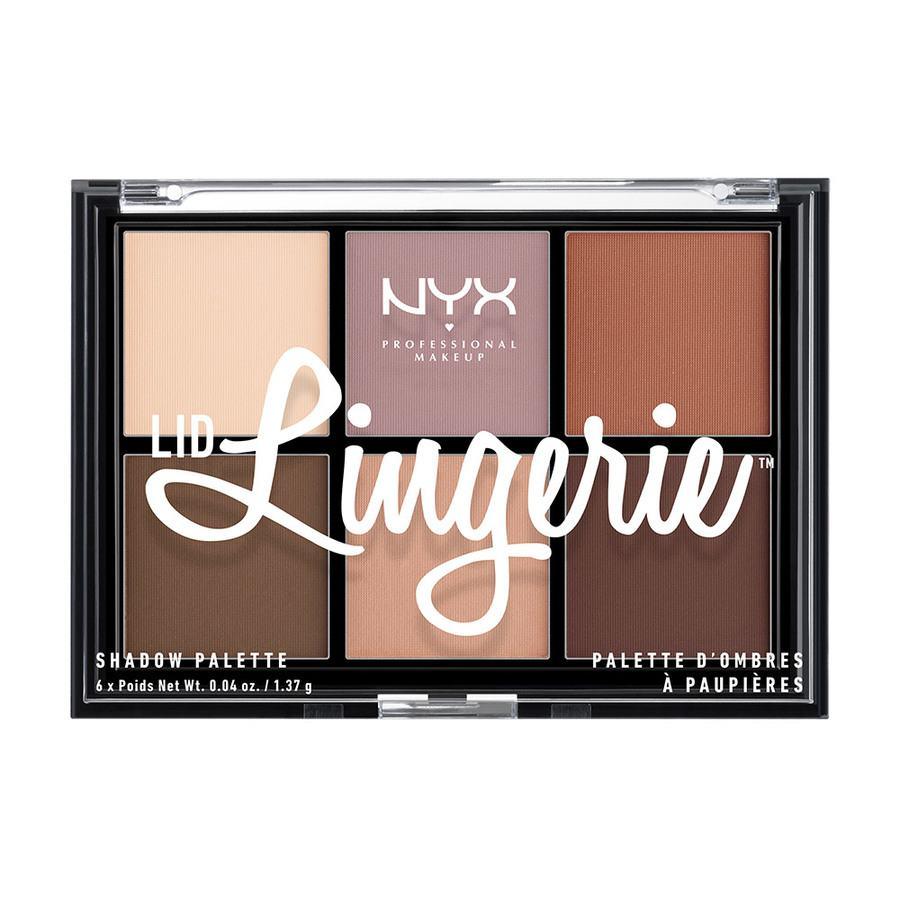 NYX Professional Makeup Lid Lingerie Shadow Palette LLSP01