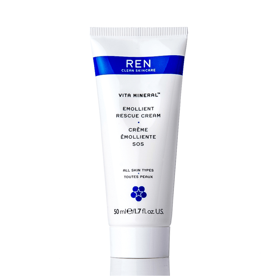 REN Vita Mineral Emollient Rescue Cream Gesichtscreme (50 ml)