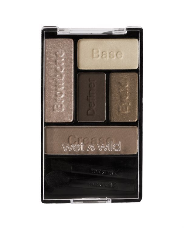 Wet 'n Wild Color Icon Lidschatten-Palette, Bare and Beautiful E3961