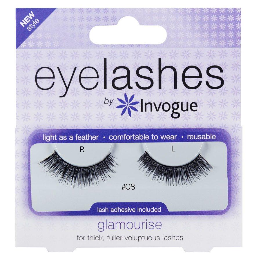 Invouge Eyelashes Glamourise #8