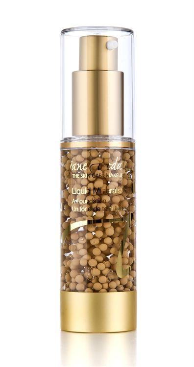 Jane Iredale Liquid Minerals Foundation (30 ml), Golden Glow