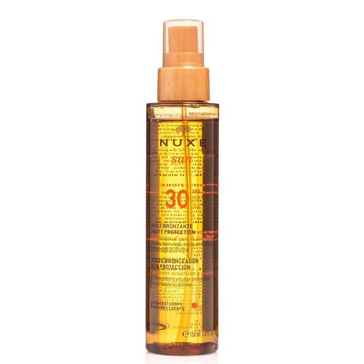 Nuxe Sun Huile Bronzante Tanning Oil LSF30 (150ml)