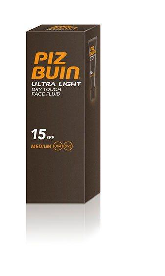 Piz Buin PB Ultra Dry Fluid Face SPF 15