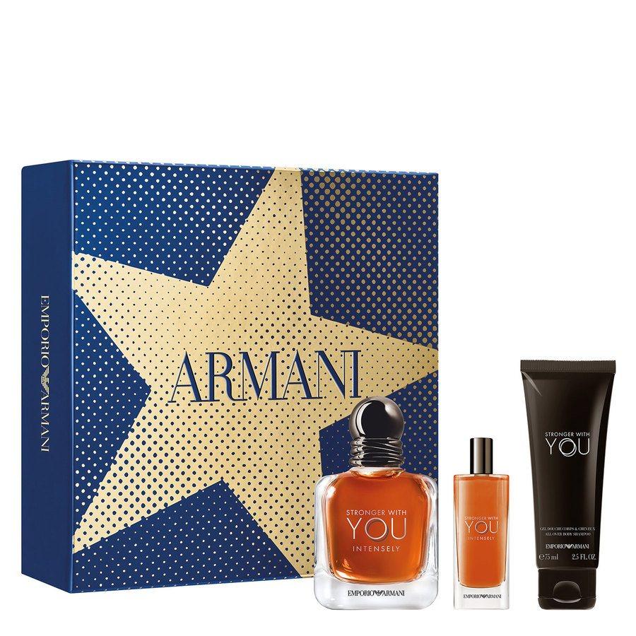 Giorgio Armani Stronger With You Intense Geschenkset