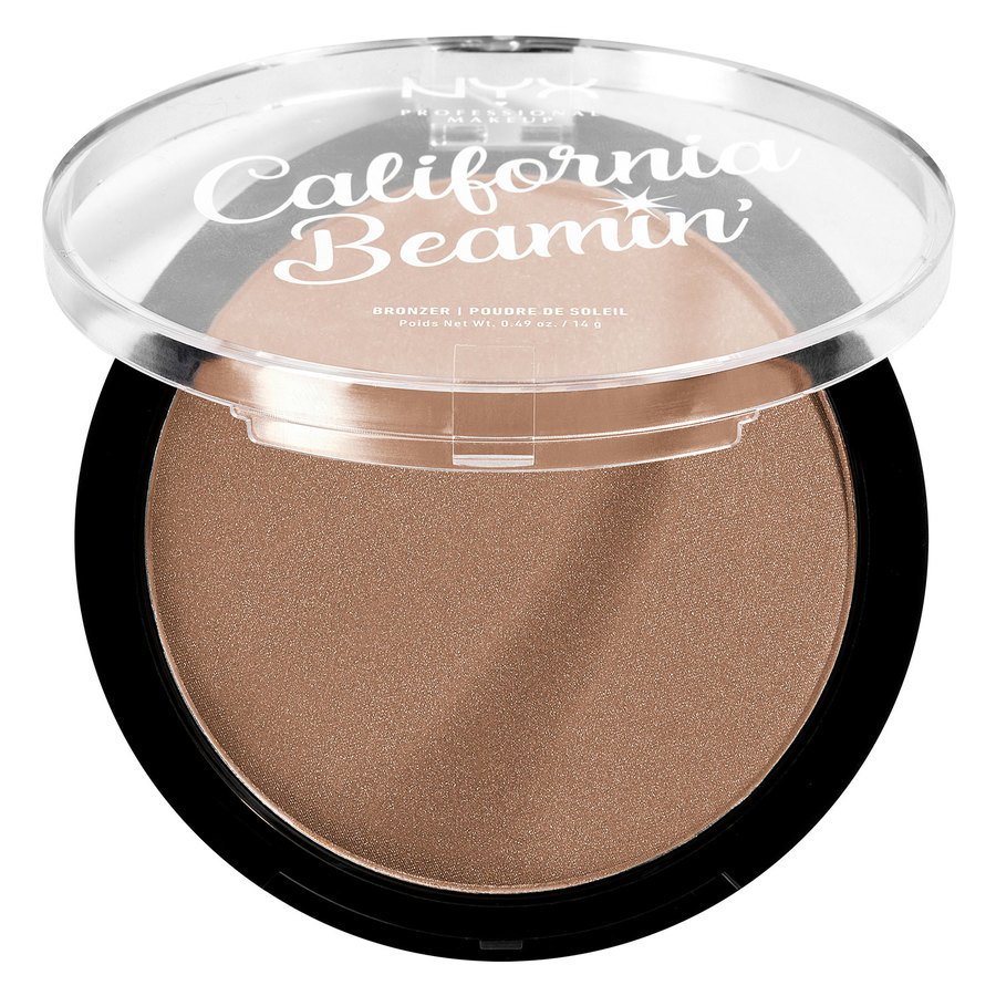 NYX Professional Makeup California Beamin' Face & Body Bronzer, The Golden One 14g