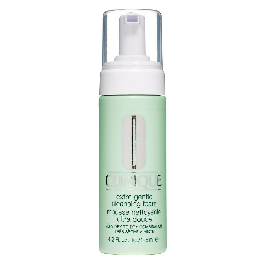 Clinique Extra Gentle Cleansing Foam Very Dry To Dry Combination (125ml)
