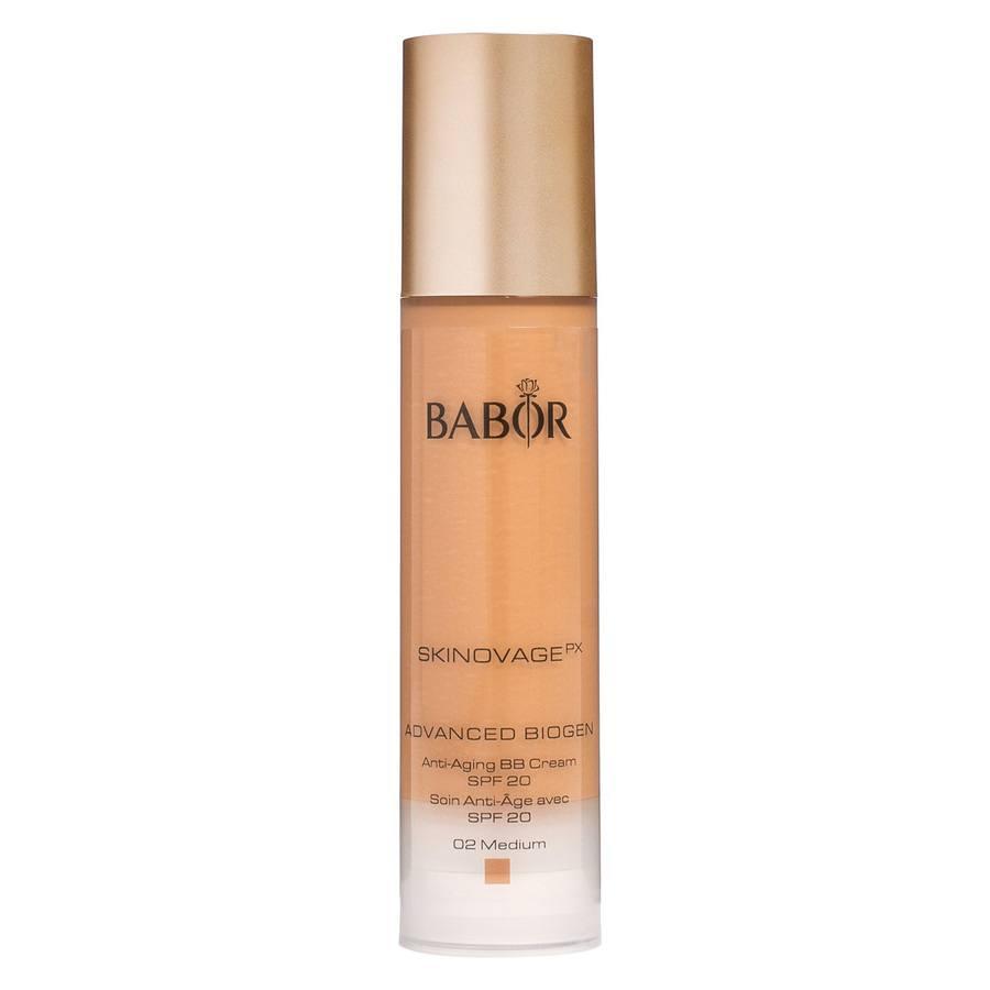 Babor Advanced Biogen Anti-Aging BB Cream LSF 20 (50 ml), 02 Medium